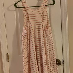 Red and White Sailor Dress from the LOFT